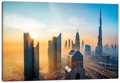 Burj Khalifa, Tallest Building In The World Canvas Art Print