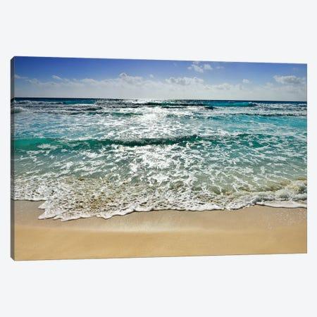 Cancun Beach I Canvas Print #SKR31} by Susanne Kremer Canvas Print