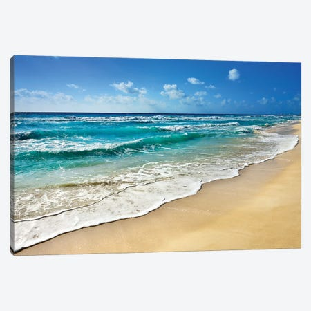 Cancun Beach II   Canvas Print #SKR32} by Susanne Kremer Canvas Print