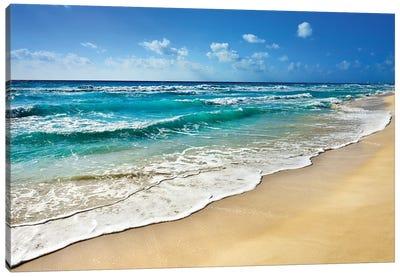 Cancun Beach II   Canvas Art Print