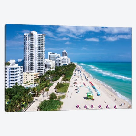 Above All, Miami Beach Florida Canvas Print #SKR347} by Susanne Kremer Canvas Art Print