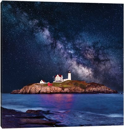 Cape Neddick, Nubble Lighthouse  Canvas Art Print