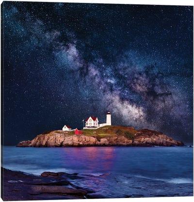 Cape Neddick, Nubble Lighthouse  Canvas Art Print