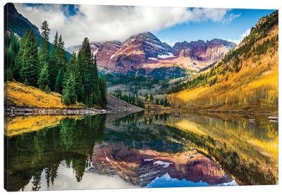 Maroon Bells, Colorado Canvas Art Print