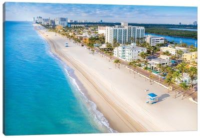 Hollywood Beach, Florida II Canvas Art Print
