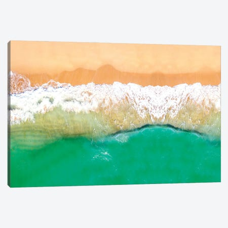 Tropical Dream Pano Canvas Print #SKR377} by Susanne Kremer Canvas Artwork