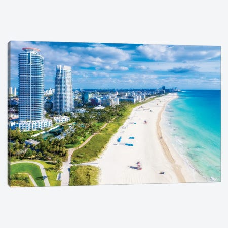 Miami Beach Florida Canvas Print #SKR380} by Susanne Kremer Canvas Wall Art