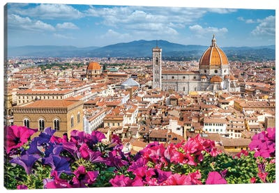 Spring Morning Florence,Italy Canvas Art Print