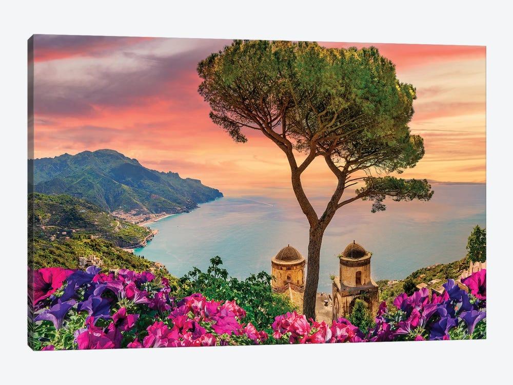 Amalfi Coast Sunset,Italy by Susanne Kremer 1-piece Art Print