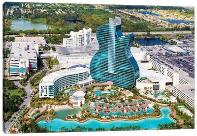 Florida Architecture Canvas Art Print