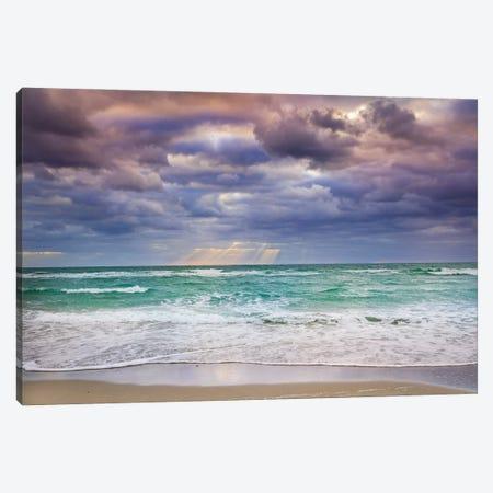 Quiet Storm, Miami Beach Florida Canvas Print #SKR498} by Susanne Kremer Canvas Artwork