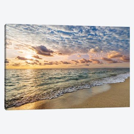 Soft Sunrise Miami Beach,Florida Canvas Print #SKR500} by Susanne Kremer Canvas Artwork