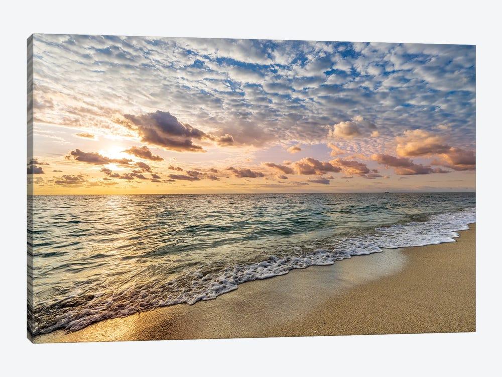 Soft Sunrise Miami Beach,Florida by Susanne Kremer 1-piece Art Print