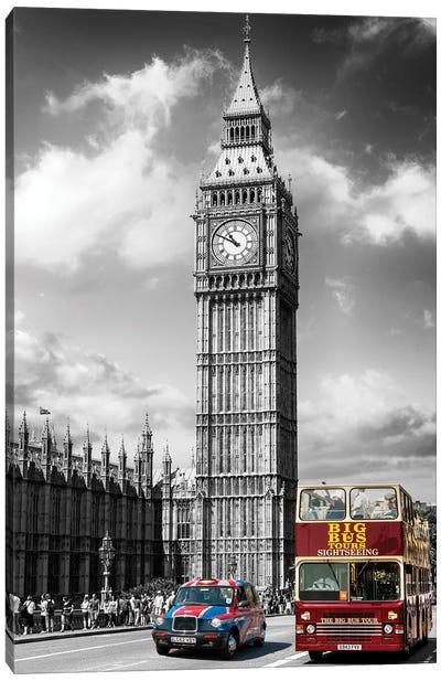 London Calling, Big Ben London, United Kingdom Canvas Art Print