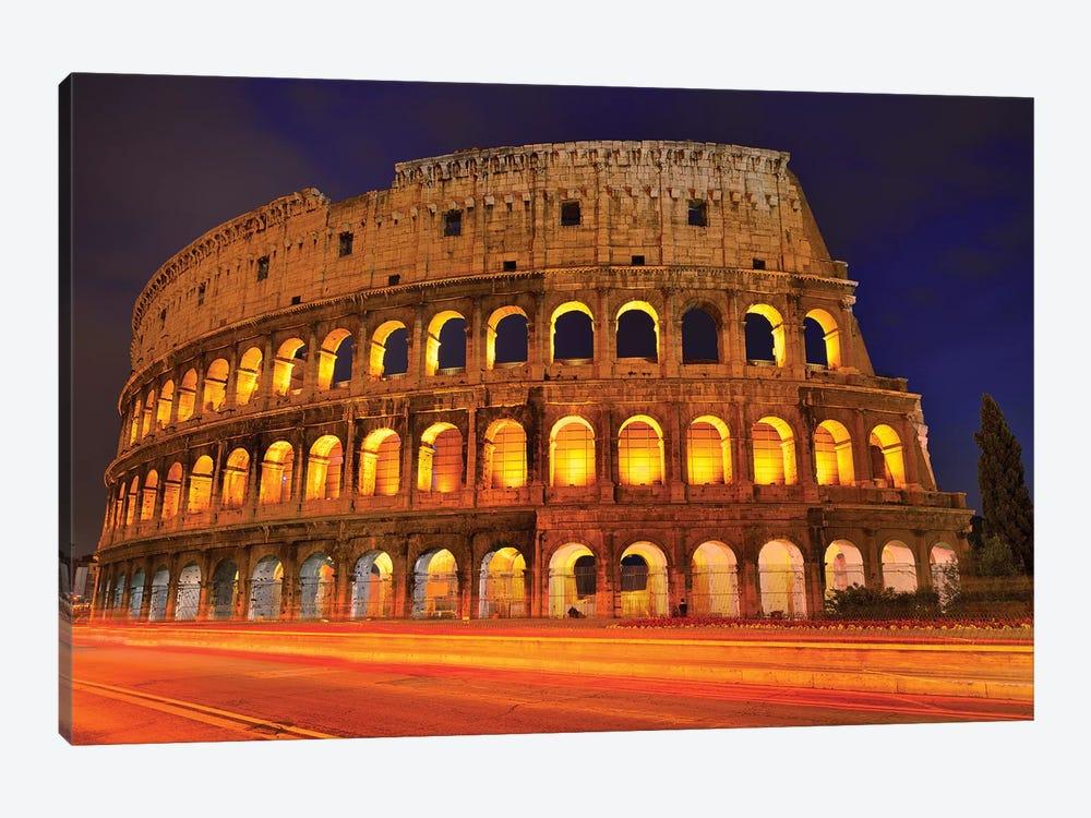 Colosseum At Night III by Susanne Kremer 1-piece Canvas Art Print