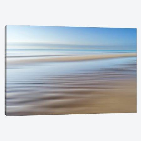 Beach Abstract IV Canvas Print #SKR522} by Susanne Kremer Canvas Wall Art