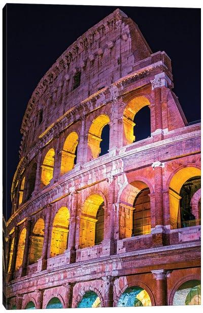 Colosseum Wall  Canvas Art Print