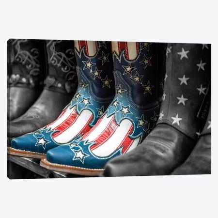 Cowboy Boots Broadway Street I Canvas Print #SKR53} by Susanne Kremer Canvas Print