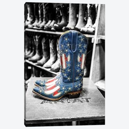 Cowboy Boots Broadway Street II Canvas Print #SKR54} by Susanne Kremer Canvas Artwork