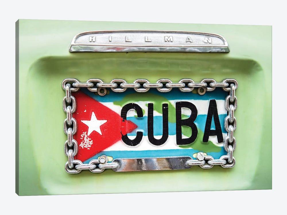 Cuban Plate, Streets of Havana  by Susanne Kremer 1-piece Canvas Art Print