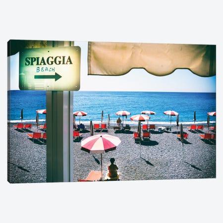 Amalfi Beach  Canvas Print #SKR5} by Susanne Kremer Canvas Print
