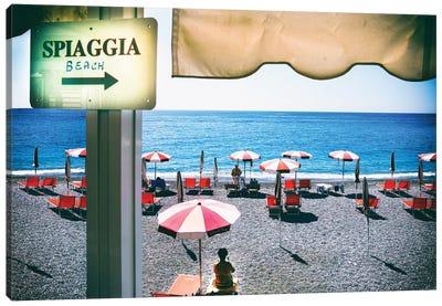 Amalfi Beach  Canvas Art Print