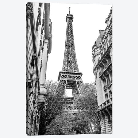 Eiffel Tower III Canvas Print #SKR62} by Susanne Kremer Canvas Wall Art