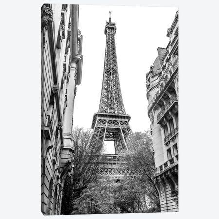 Eiffel Tower III Canvas Print #SKR62} by Susanne Kremer Canvas Wall Art