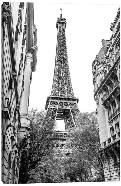 Eiffel Tower III Canvas Art Print