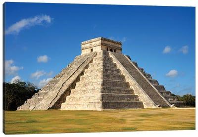 El Castillo, Mayan Ruin, Chichen Itza II Canvas Art Print