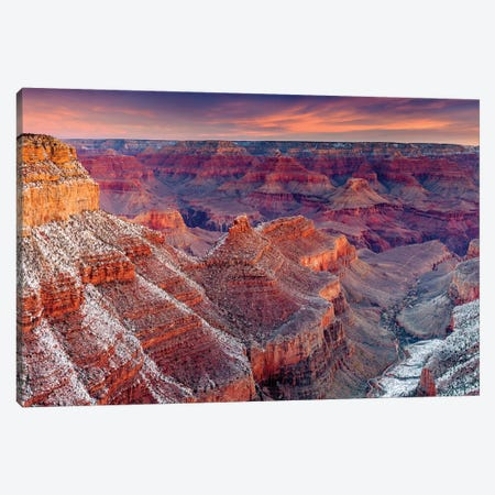 Grand Canyon South Rim III Canvas Print #SKR78} by Susanne Kremer Art Print