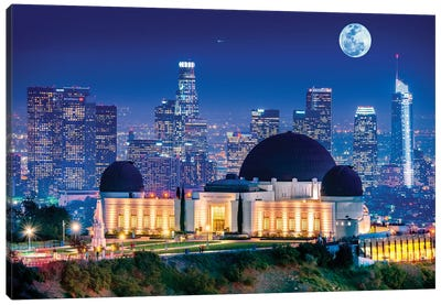 Griffith Park Observatory  Canvas Art Print