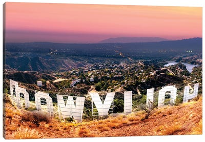 Hollywood Sign   Canvas Art Print