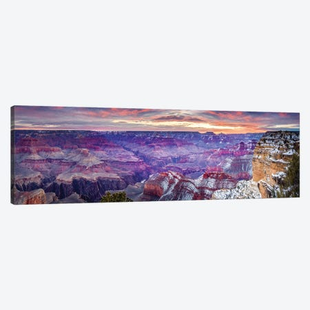 Hopi Point Sunrise I Canvas Print #SKR89} by Susanne Kremer Canvas Wall Art