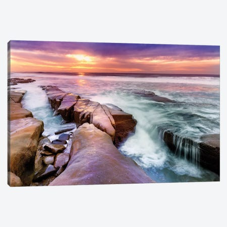 Hospital Reef La Jolla I Canvas Print #SKR92} by Susanne Kremer Canvas Art Print