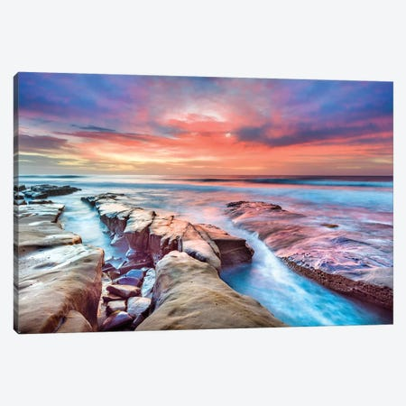 Hospital Reef La Jolla II Canvas Print #SKR93} by Susanne Kremer Canvas Print