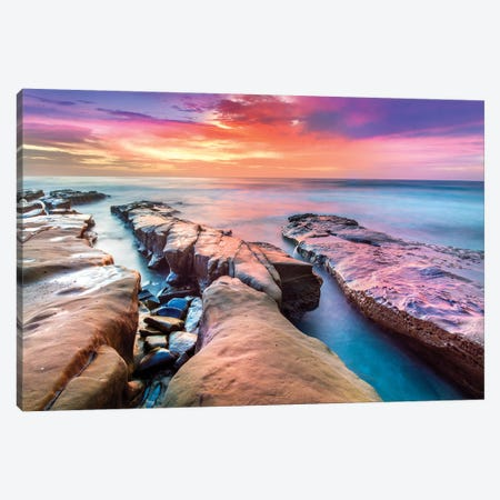 Hospital Reef La Jolla III  Canvas Print #SKR94} by Susanne Kremer Canvas Artwork