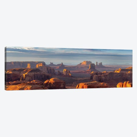 Hunts Mesa Navajo Tribal Park II Canvas Print #SKR96} by Susanne Kremer Canvas Artwork