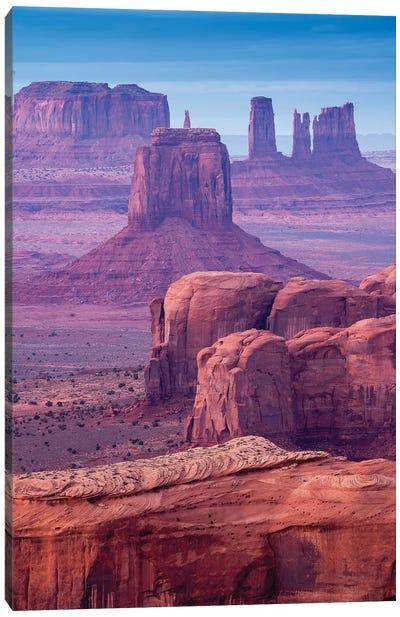 Hunts Mesa Navajo Tribal Park III Canvas Art Print