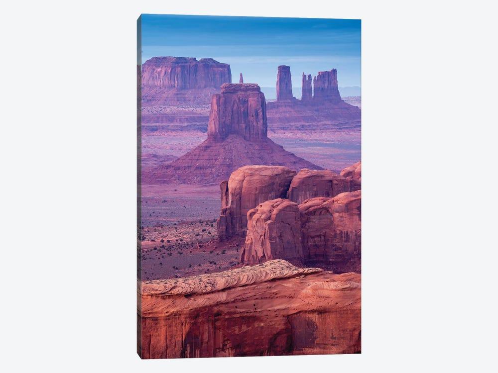 Hunts Mesa Navajo Tribal Park III by Susanne Kremer 1-piece Canvas Print