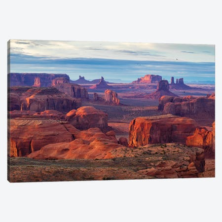 Hunts Mesa Navajo Tribal Park IV Canvas Print #SKR98} by Susanne Kremer Art Print