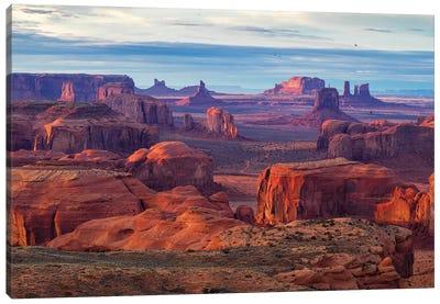 Hunts Mesa Navajo Tribal Park IV Canvas Art Print