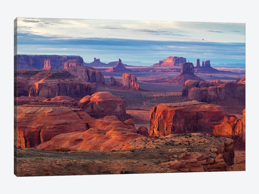 Hunts Mesa Navajo Tribal Park IV by Susanne Kremer 1-piece Canvas Artwork