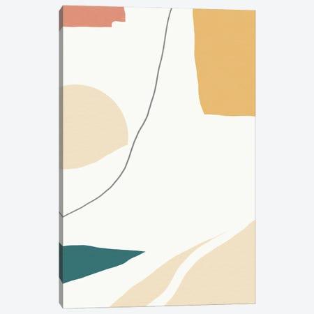 Broken Edges Canvas Print #SKS1} by Sakshi Modi Art Print