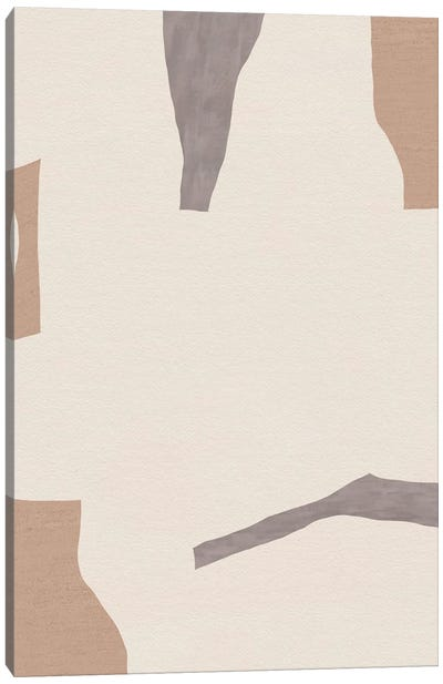 Muddle Canvas Art Print