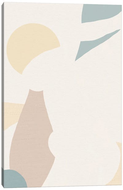 Palmy Canvas Art Print