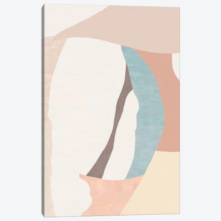 Pastel Abstract Canvas Print #SKS8} by Sakshi Modi Canvas Print