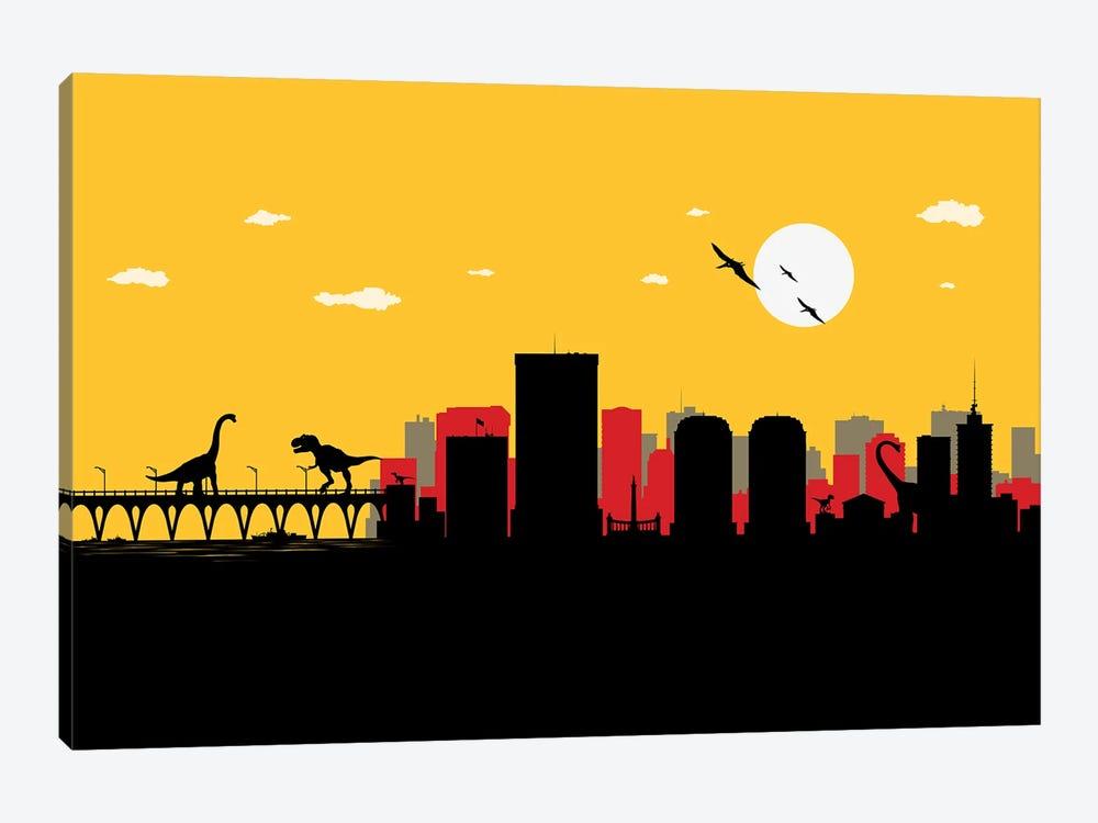 Richmond Dinosaurs by SKYWORLDPROJECT 1-piece Canvas Artwork