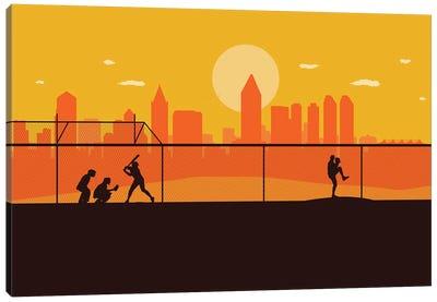 San Diego Playball Canvas Art Print