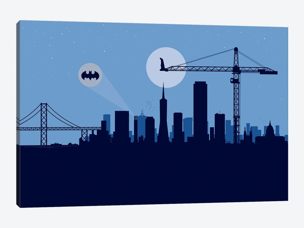 San Francisco Protector by SKYWORLDPROJECT 1-piece Canvas Print
